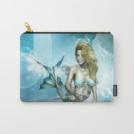 Beautiful mermaid Carry-All Pouch