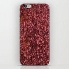Red Asphalt iPhone & iPod Skin