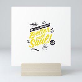 Better Call Saul Mini Art Print