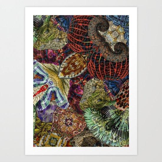 Psychedelic Botanical 7 Art Print