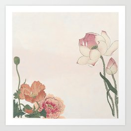 Flower celebration Art Print