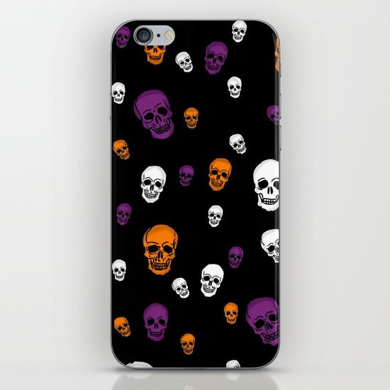 Skulls Galore iPhone & iPod Skin