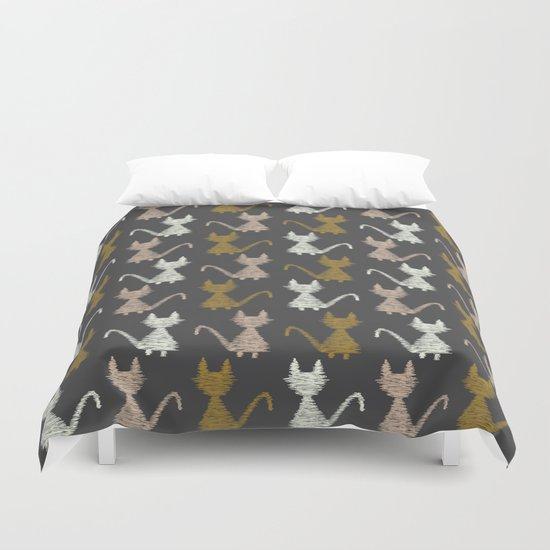 Cat pattern 2 Duvet Cover
