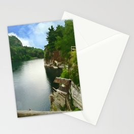 Majestic Mohonk Lake Stationery Cards