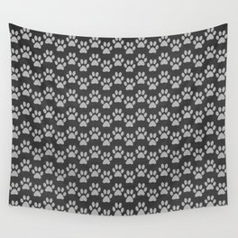 Paw Print Wall Tapestry