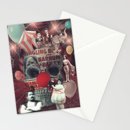 Circus skull Stationery Cards
