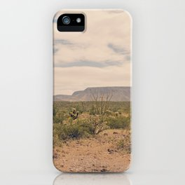 Down Desert Roads II iPhone Case