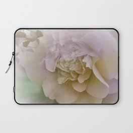Romantic Camellia / floral design in soft color tones Laptop Sleeve