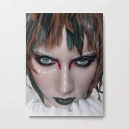 bird girl Metal Print