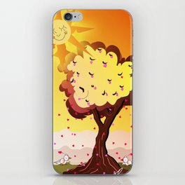 Under the tree part II iPhone Skin