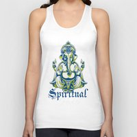 spiritual Tank Tops featuring Spiritual healer  by Tshirt-Factory