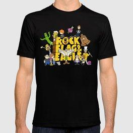 Rock, Flag & Eagle T-shirt