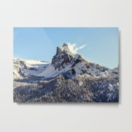 Magestic Mountain Metal Print