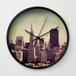 you can't beat that view Wall Clock