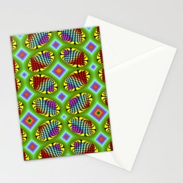 Patterned-beans-pattern 1 Stationery Cards