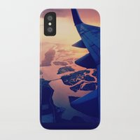 plane iPhone & iPod Cases featuring Plane by Leah Galant