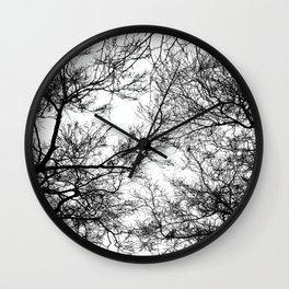 Tree Silhouette Series 7 Wall Clock