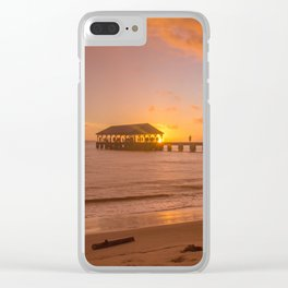 Hanalei Bay, Hawaii Clear iPhone Case