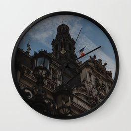 Hotel de Ville Paris Wall Clock