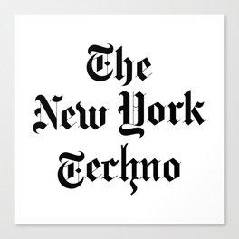 The New York Techno Canvas Print