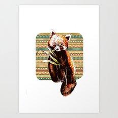 Firefox Art Print