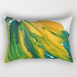 Wings Collection orange/green Rectangular Pillow