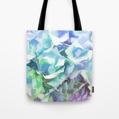 Hydrangea in a Pastel Light Tote Bag