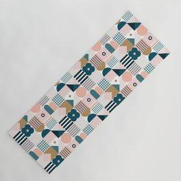Flower Tile Yoga Mat
