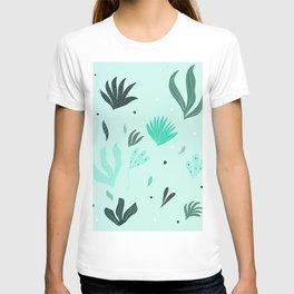 Underwater Leaves Jungle #1 #kids #decor #art #society6 T-shirt