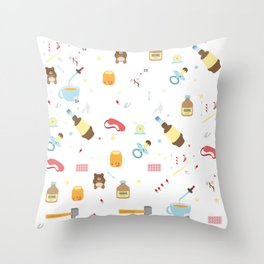 Sleeping tools Throw Pillow