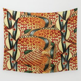 Crowd Fish Wall Tapestry