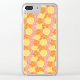 Citrus State of Mind Clear iPhone Case