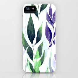 Leafage #01 iPhone Case