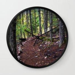 The Revelstoke Trail I Wall Clock