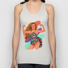 Grown Woman Unisex Tank Top