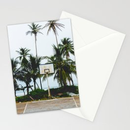 Basketball on Isla Bastimento, Bocas del Toro, Panama Stationery Cards