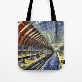 Paddington Railway Station Art Tote Bag