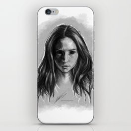 """Gooverly"" Demon Gray Drawing iPhone Skin"
