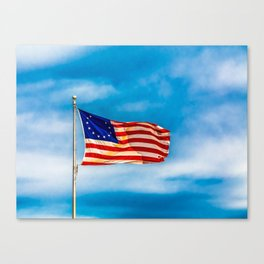 Original Flag Canvas Print