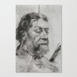 Study of Dan Canvas Print