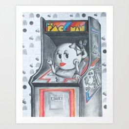 PACFICTION Art Print