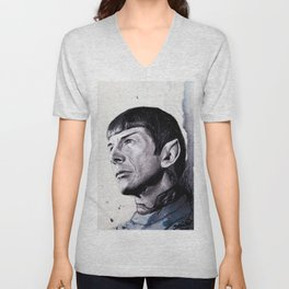 Goodbye Mr. Spock - Leonard Nimoy Unisex V-Neck