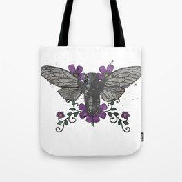 Seventeen Year Locust Tote Bag