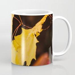 Yellow maple leaves Coffee Mug