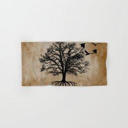 Tree of Life - Crow Tree Modern Farmhouse Decor A823 Hand & Bath Towel