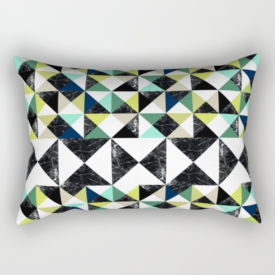 MarblePattern Rectangular Pillow