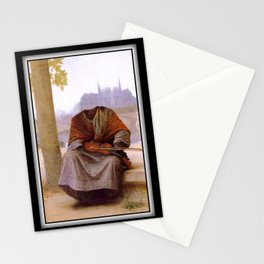 Bouguereau's Invisible Bohemian Stationery Cards