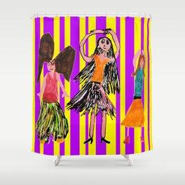Dance Angel Shower Curtain