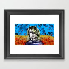The man who never was Framed Art Print