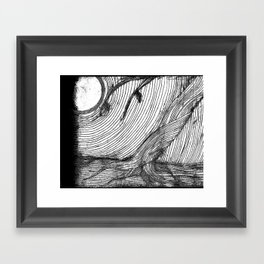 disappearance Framed Art Print